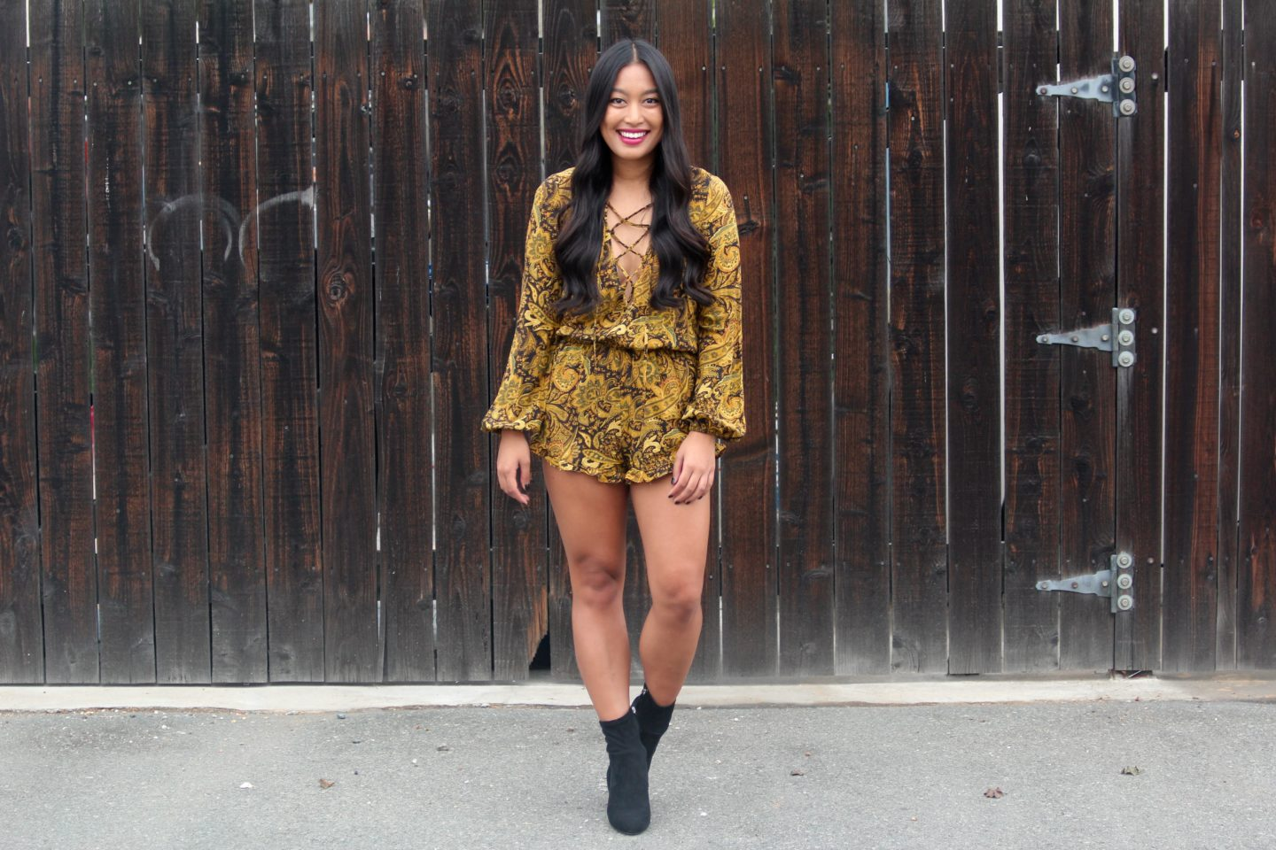My Favorite Fall Rompers | Chelsea de Castro