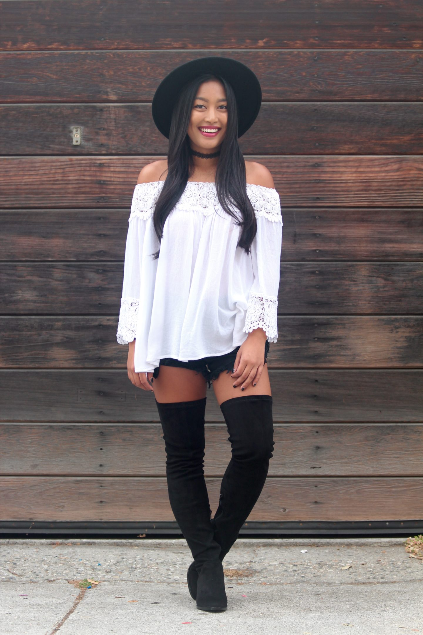 How I Style Thigh High Boots - Chelsea de Castro