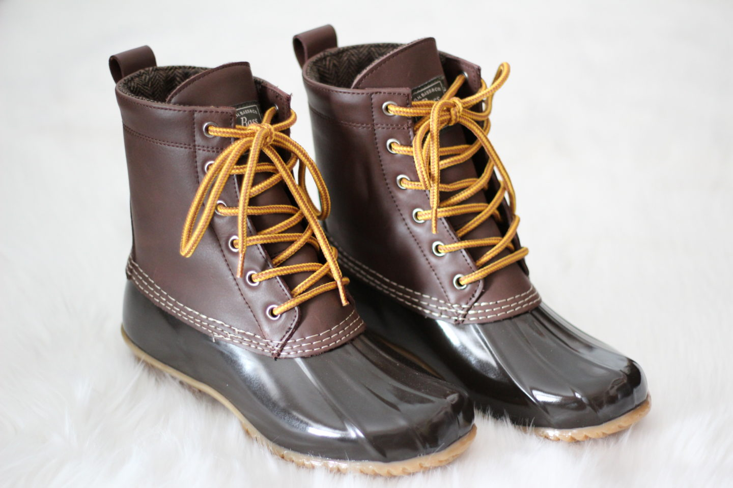 Bass Duck Boots - Chelsea de Castro - Fall and Winter Booties