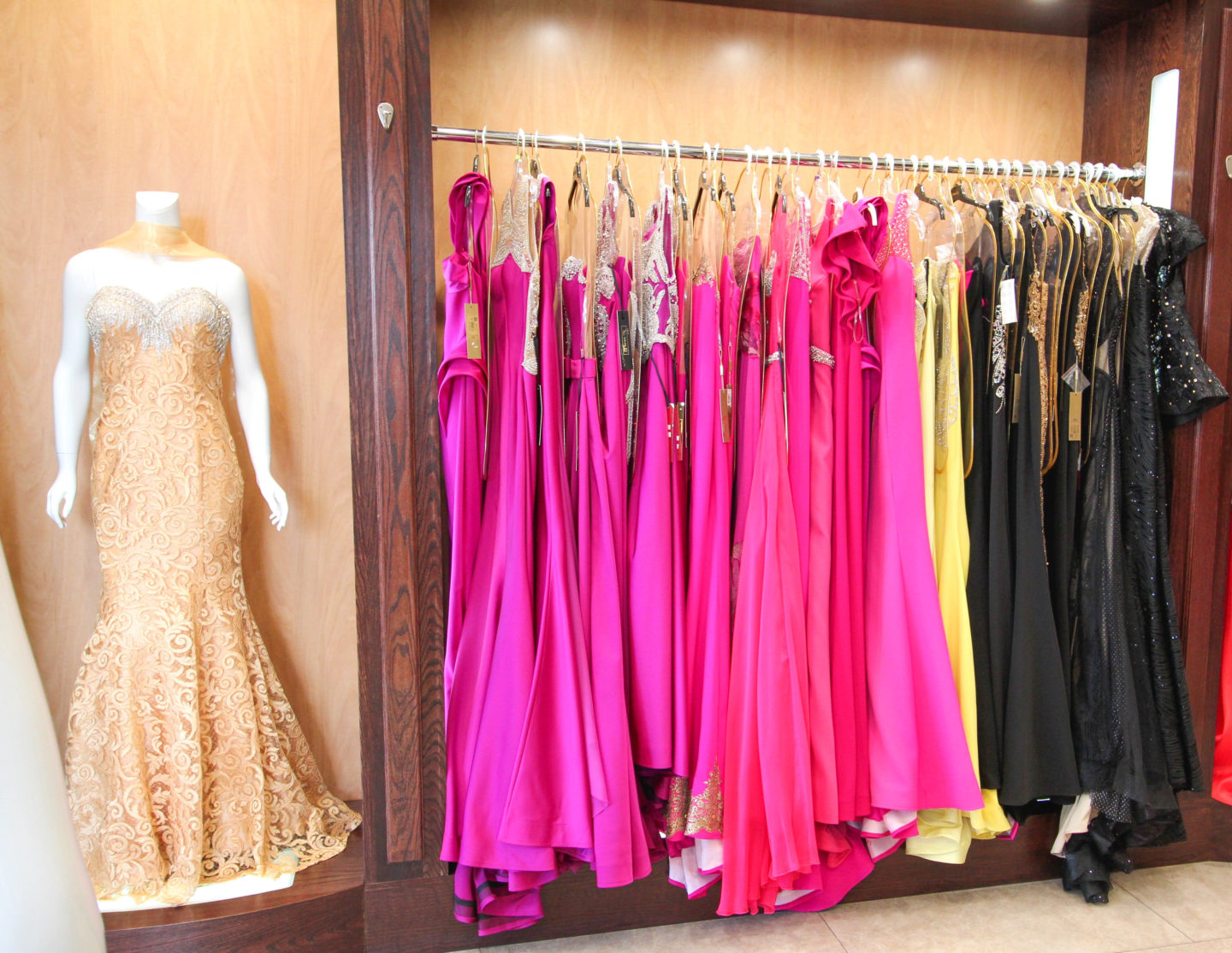Formal Dress Shopping at LA Fashion District - Chelsea de Castro