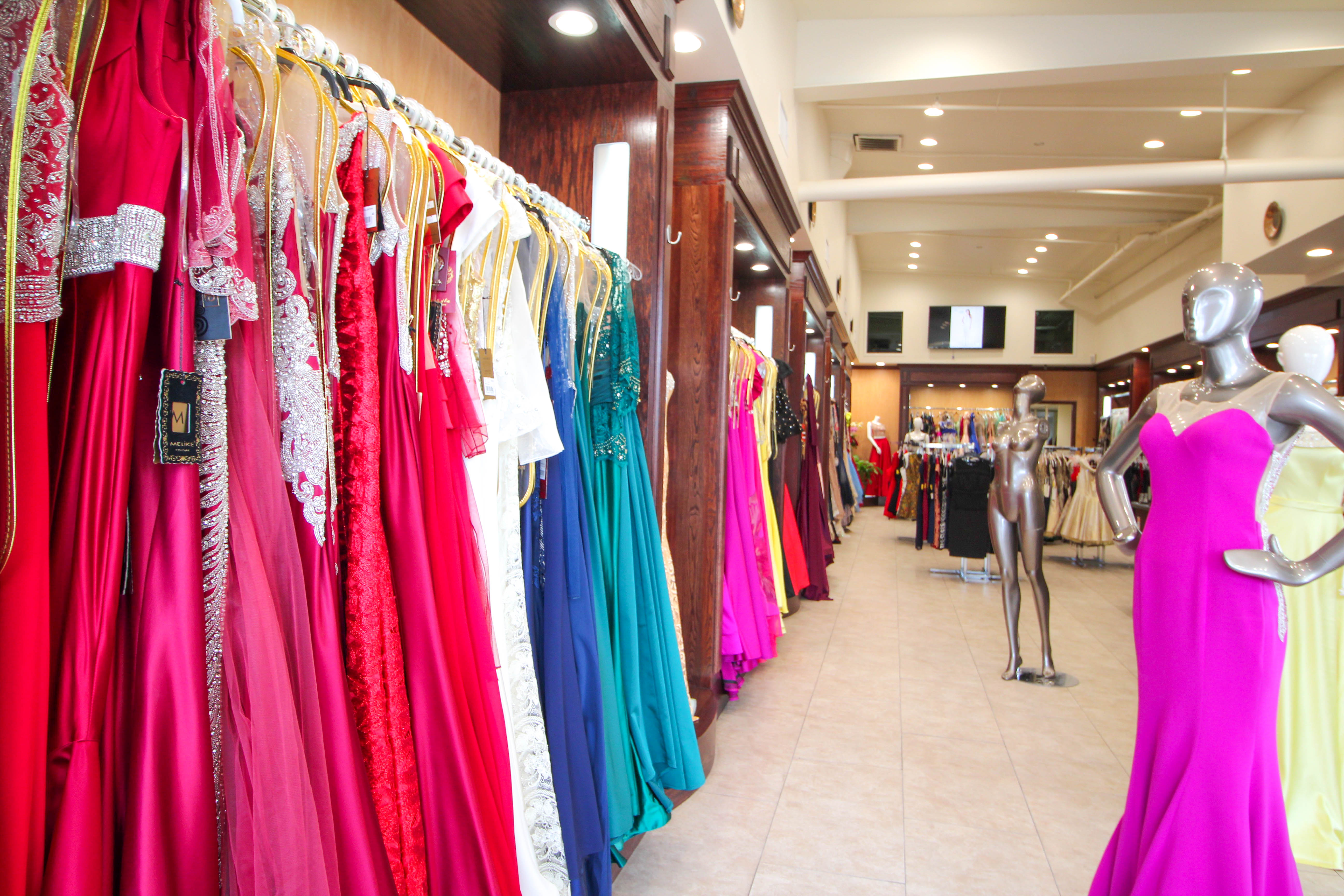 select for official detailed look detailed images Formal Dress Shopping at the LA Fashion District | Mom ...